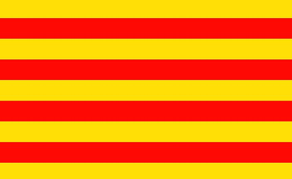 Catalonia Standard Patriotism Loyalty Flag Catalon
