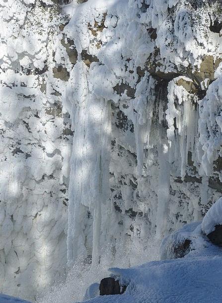 Canim Falls Landscapes Nature Canada British Colum