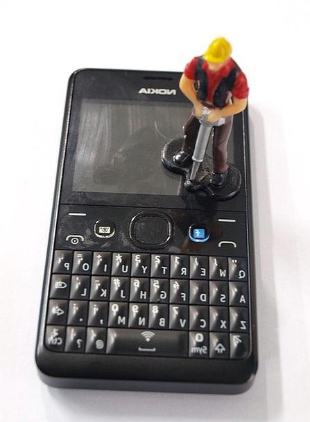 Miniature Small Communication Doll Computer Repair