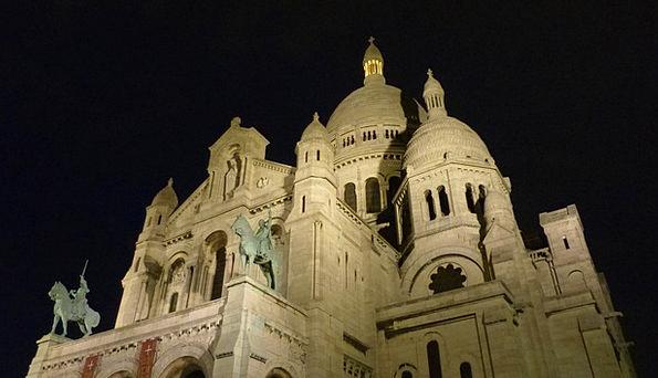 Paris Sacré Coeur France Basilica House Of Worship