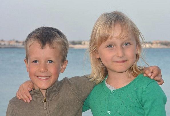 Children Broods Public Boy Lad People Girl Lassie