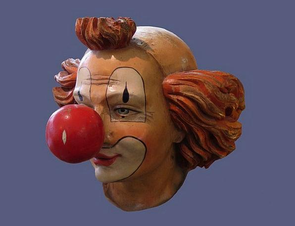 Clown Joker Expression Mask Cover Face Head Skull
