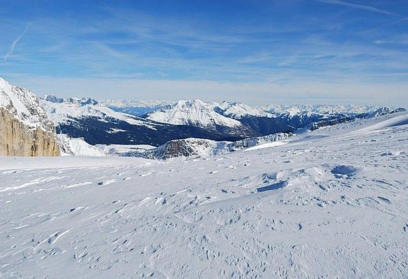 Dolomites Landscapes Crag Nature Snow Snowflake Mo