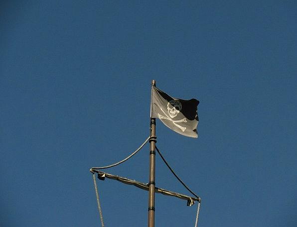 Flag Standard Buccaneers Skull Mind Pirates Banner