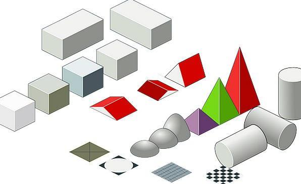 Three Dimensional Shapes Rectangular Prism Geometr