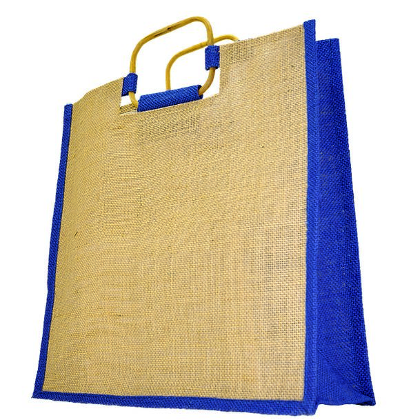Bag Basket Spending Weave Pile Shopping Handle Gri
