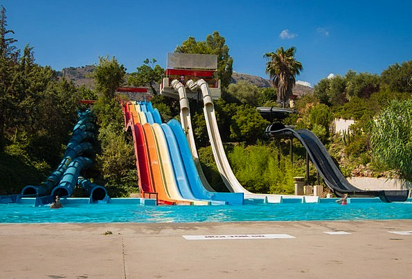 Water Park Transparency The Sun Slide Weather Clim
