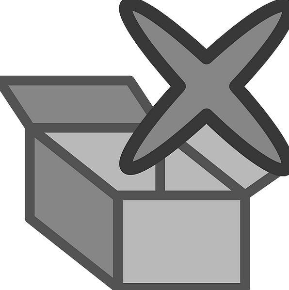 Archive Documentation Erase Remove Delete Icon Ima