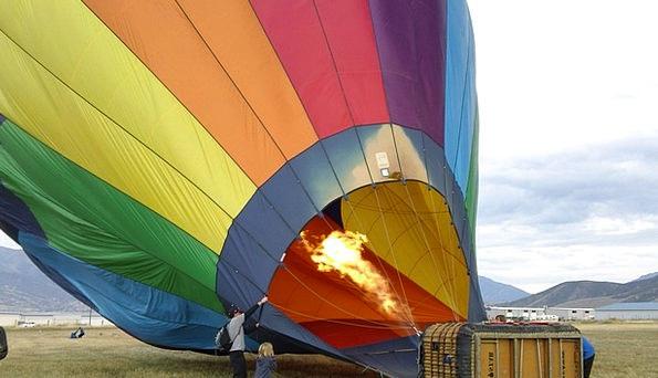 Balloon Inflatable Boasting Colors Insignia Hot Ai