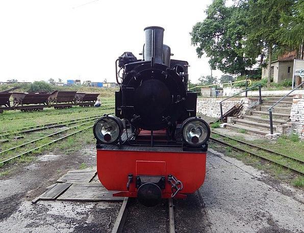 Narrow-Gauge Railway Pullman Wagons Carriages Trai