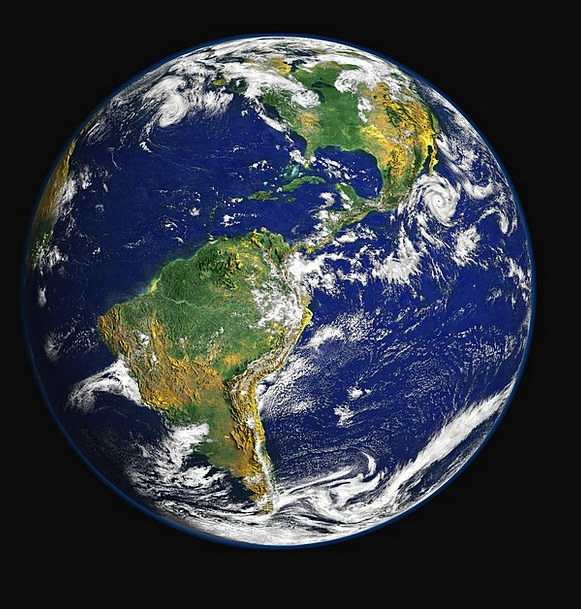 Earth Soil Globe Sphere Blue Planet Astronautics P