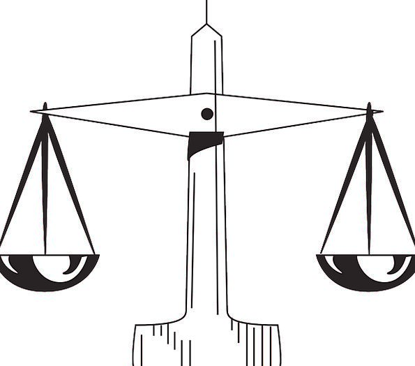 Scale Gauge Rule Judgement Law Weight Supreme High
