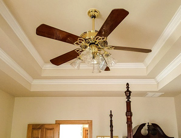 new arrival b693f 2bc5f Ceiling Fan, Crown Molding, Tray Ceiling, Circulate, Light ...