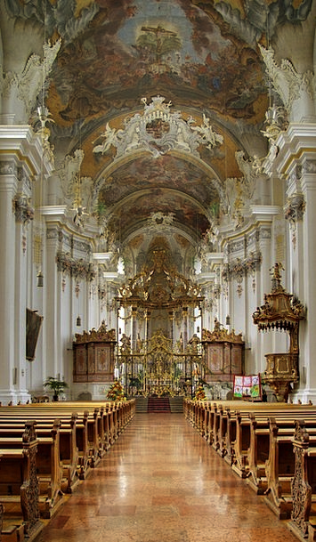 Church Ecclesiastical Ornate Parish Church Baroque