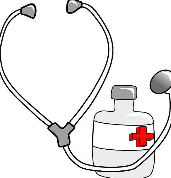 Stethoscope Drug Medical Medicinal Medicine Physic