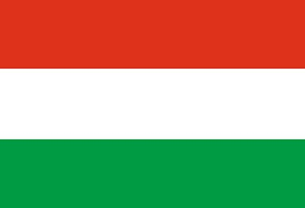 Hungary Standard National Nationwide Flag Nation S