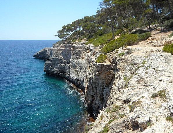 Mediterranean Landscapes Shore Nature Holiday Brea