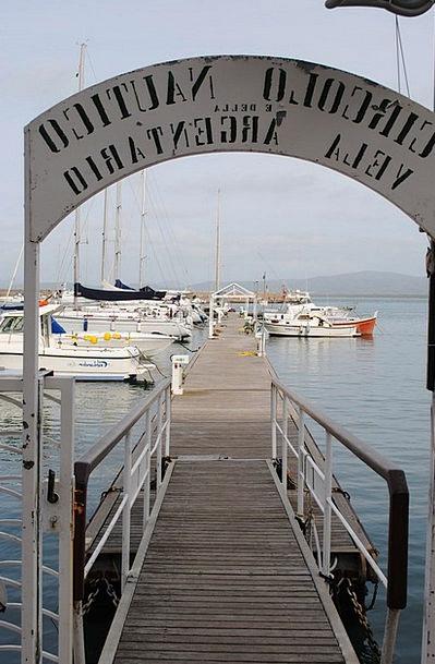 Port Harbor Italy Bootssteeg Tuscany Ships Boats V