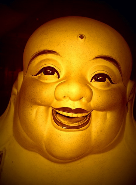 Buddha Fun Asia Laugh Peace Concord Statue Face Th