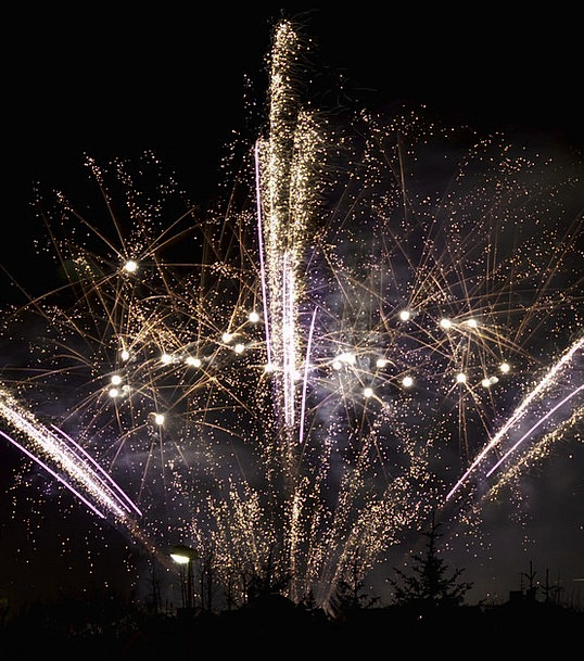Firework Rocket Novel Year Day New Holiday Break P
