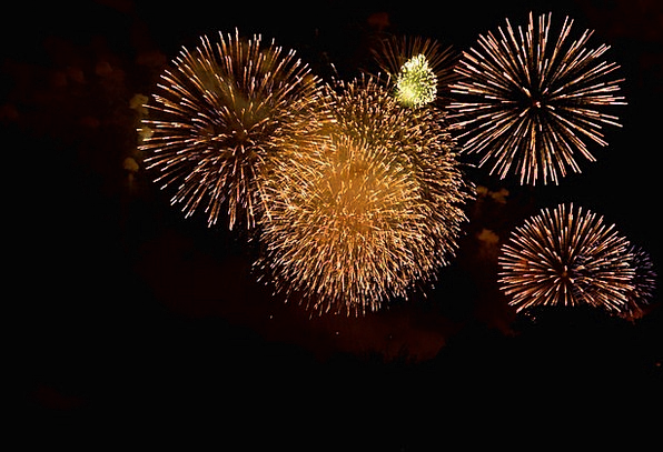 Fireworks Skyrockets Fire Passion Rockets Lights I