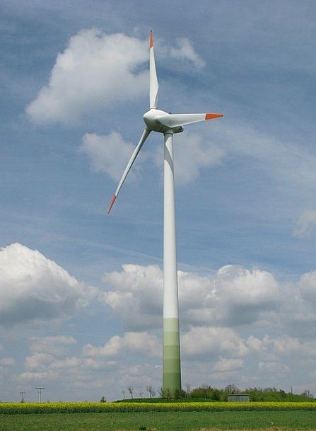 Growian Breeze Wind Turbine Wind Wind Power Plant