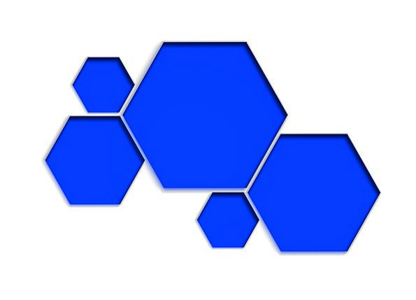 Honeycomb Form Textures Searches Backgrounds Blue