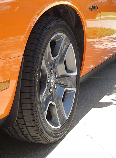 Muscle Car Contestant Orange Carroty Challenger Wh