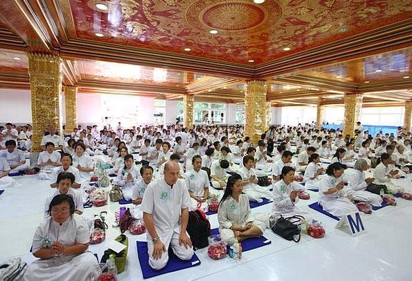 Buddhism Shrine Praying Requesting Temple Buddhist