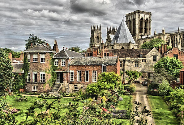 York Buildings Architecture England Minster Christ