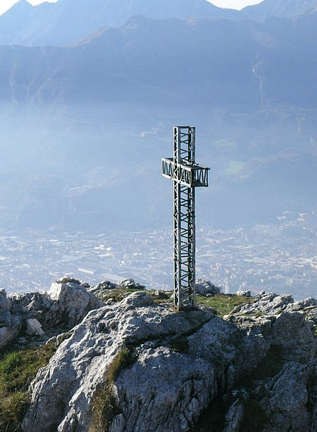 Mount Moregallo Irritated Italy Cross Top Highest