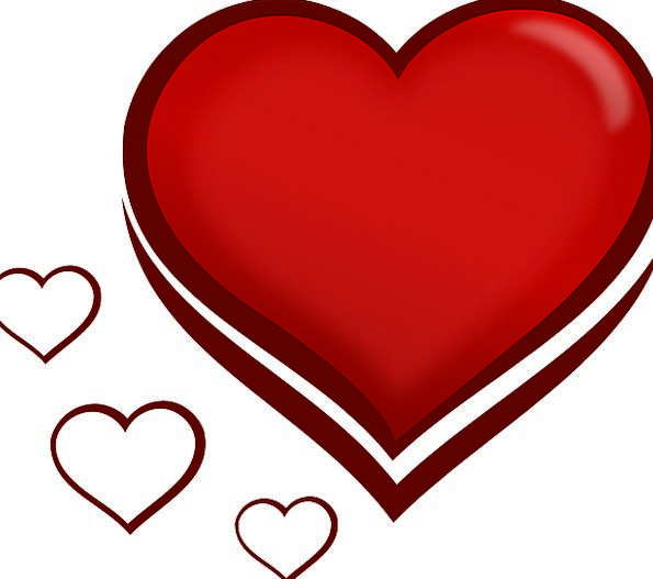 Heart Emotion Darling Red Bloodshot Love Valentine