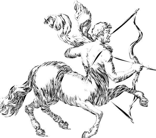 Sagittarius Zodiac Astrologer's chart Sign Archer