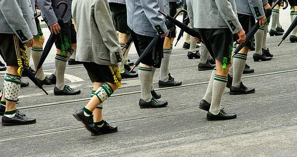 Oktoberfest Parade Procession Bavaria