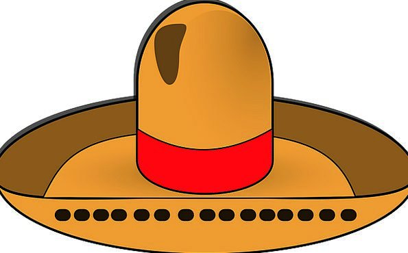 Sombrero Hat Cap Mexican Spanish Mexico Latino Eth