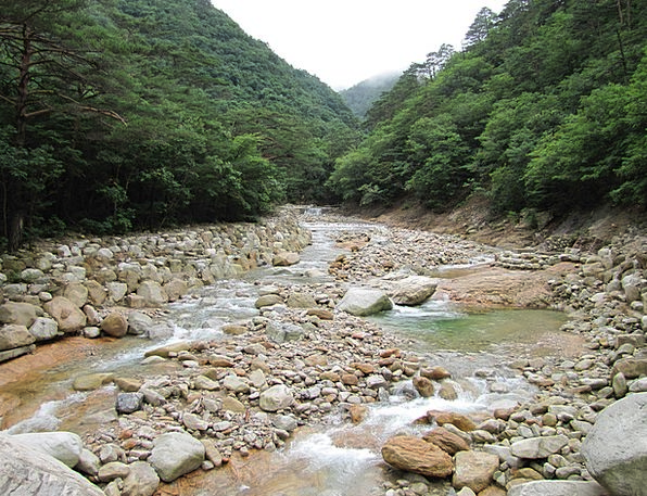 Mt Seoraksan Landscapes Nature Republic Of Korea K