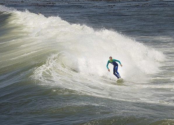Surfer Vacation Upsurge Travel Water Aquatic Wave