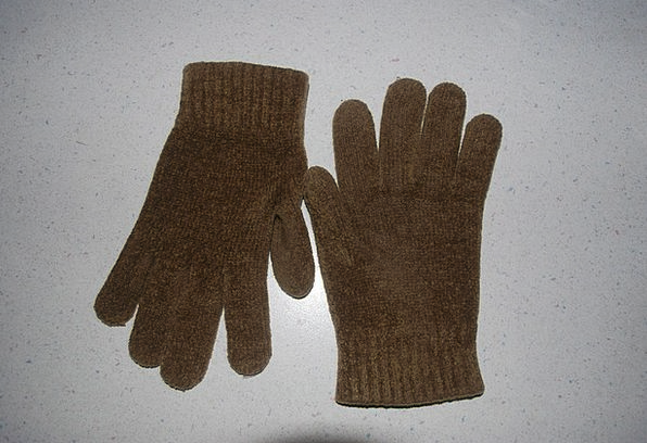 Glove Ornaments Wool Angora Gloves Hand Pointer Mi
