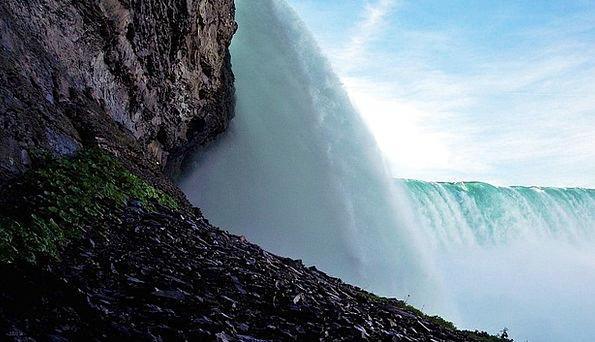 Niagara Falls Landscapes Nature Cascade Waterfall