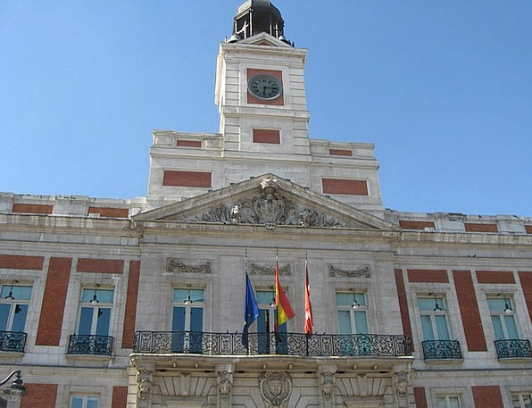 Madrid Buildings Household Architecture Spain Hous