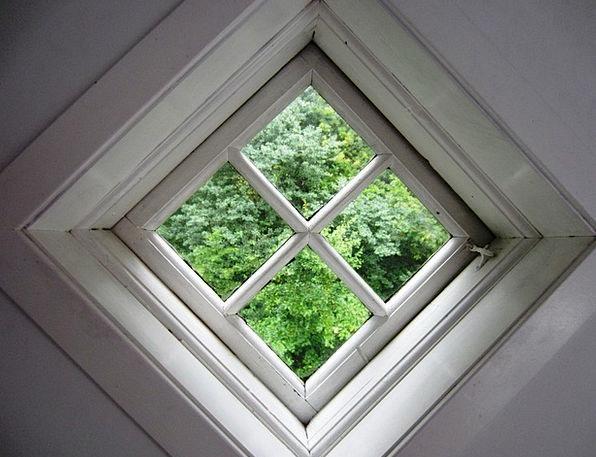Window Gap Opening Niels Bugge'S Hotel Peephole