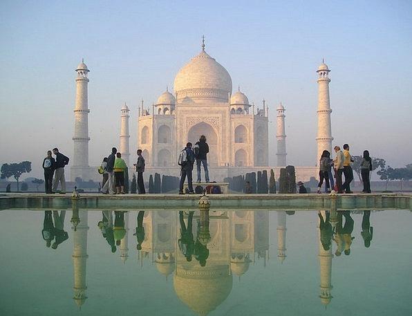 India Mahal Taj Agra Temple Tomb Shrine Grave