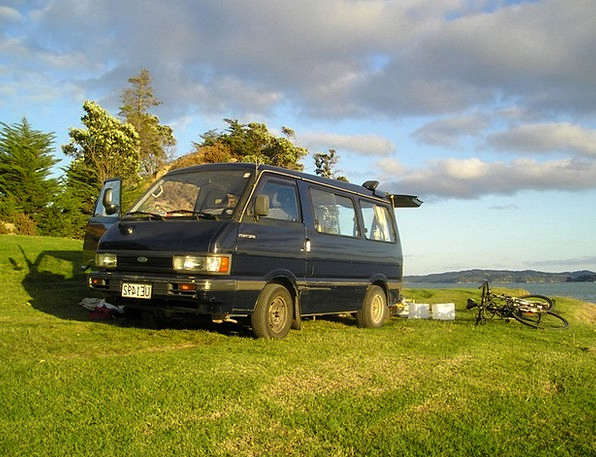 New Zealand Vacation Portable Travel Bus Car Trave