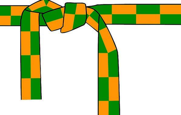 Belt Girdle Draw Sash Band Tie Knot Lump Ribbons T