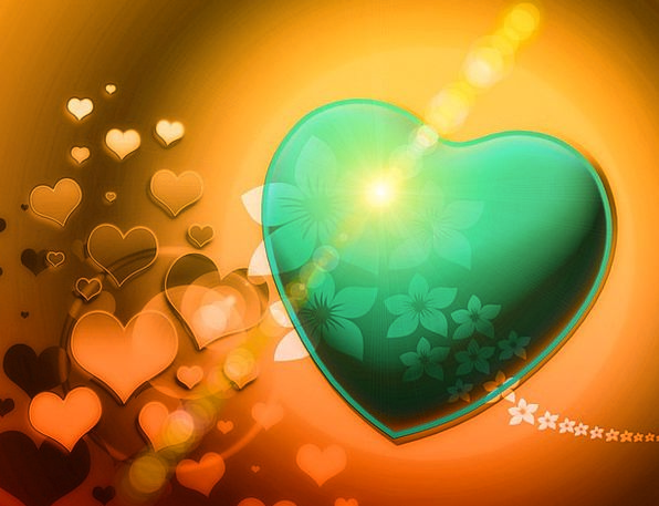Heart Emotion Fractals Fractal Greetings Romantic