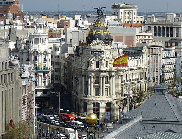 Madrid Buildings Architecture Architecture Buildin