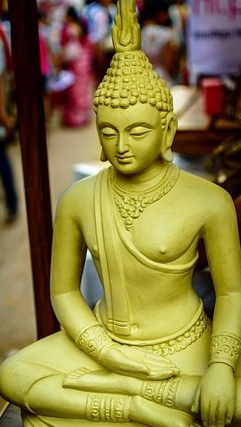 Buddha Monastery Cloister Buddha Head Peaceful Bud