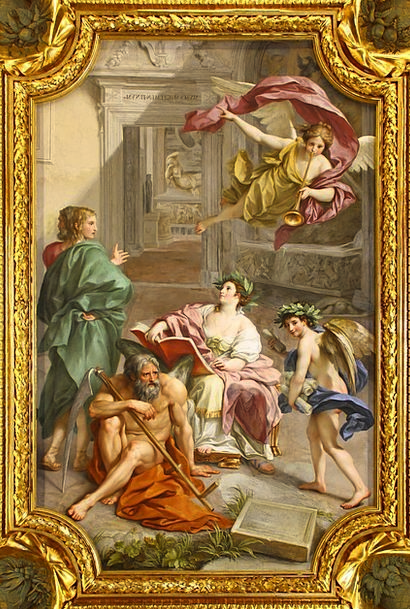 Fresco Fresh Painting Mural Ornament Anton Raphael