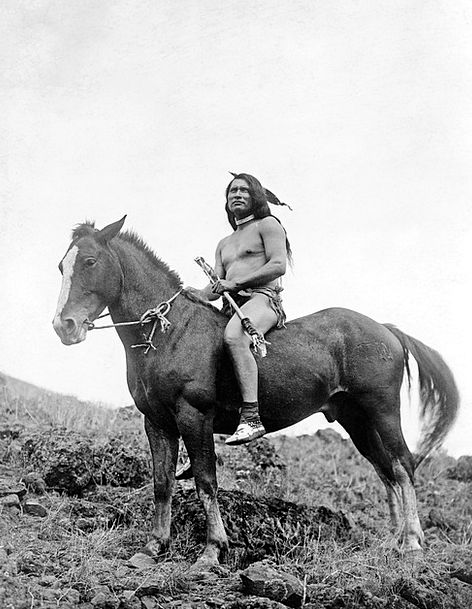Indians Soldier Reiter Warrior Native American Moc