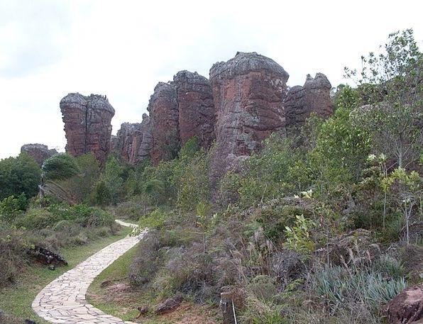 Vila Velha State Park Paraná Ponta Grossa Brazil